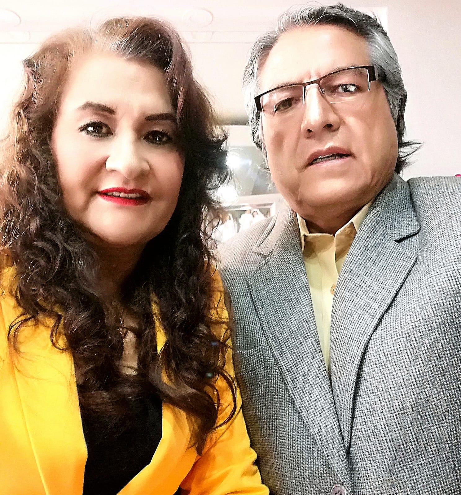 Oliberto Vergara y Cecilia Eizaguirre de Vergara